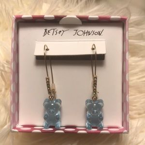 Betsey Johnson Gummy Bear Drop Earrings